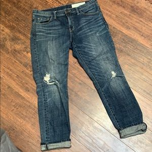 Treasure & Bond boyfriend dark jeans 29